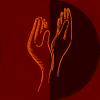 Deux mains représentant le massage Delphine Striffling